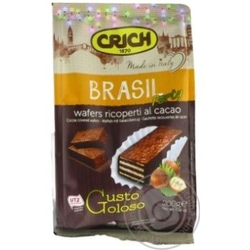 Вафли Crich Brasil Party 200г