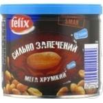 Арахис Felix соленый жареный и запеченный 120г ж/б