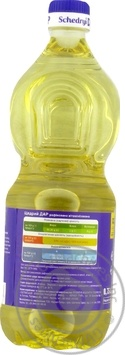 Schedryy dar sunflower refined oil 750ml - buy, prices for Novus - image 2