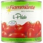 Vegetables tomato La fiammante whole 2500g