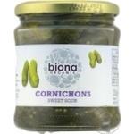 Корнішони Biona Organic мариновані 330г