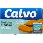 Мідії Calvo у розсолі 115гр