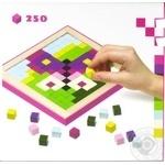 Набор для творчества Cubika Wooden Pixel Magic Мозаика