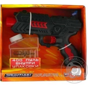 Пістолет іграшковий Захисник П3К-15 MISSION-TARGET M02 + - купить, цены на Novus - фото 1