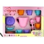 Набір ігровий Tigres Набір посуду Ромашка 28елементів