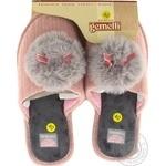 Обувь домашняя Gemelli женская пушистая