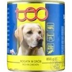 Food Teo in sauce for dogs 850g