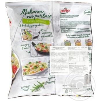 Макарони для смаження Hortex з сирним соусом замороженi 450г - купити, ціни на Ашан - фото 2