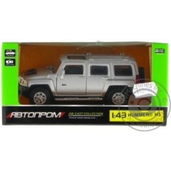 Машинка Автопром Hummer H3 металева 67301 - купити, ціни на Таврія В - фото 3