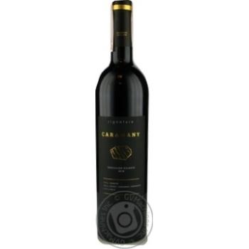 Signature Caramany Cotes du Roussillon Villages red dry wine 14% 0,75l