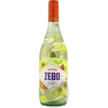 Вино игристое Cantine Pellegrino Zebo Moscato Bianco Dolce Sicilia IGT белое сладкое 6% 0,75л - купить, цены на Novus - фото 2