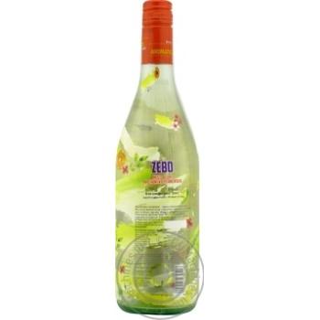 Вино игристое Cantine Pellegrino Zebo Moscato Bianco Dolce Sicilia IGT белое сладкое 6% 0,75л - купить, цены на Novus - фото 3