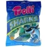Конфеты Trolli Акулы фруктовые жевательные 100г