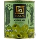 olive Ellada green pitted 850ml