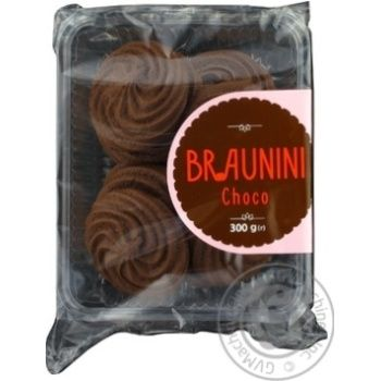 Boguslavna Brownini Cookies with Chocolate Flavor 300g - buy, prices for Auchan - photo 2