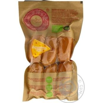 Wiener Organic meat with cheese 420g - buy, prices for MegaMarket - image 1