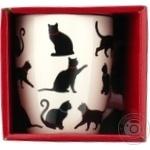Чашка Keramia Черные коты 360мл