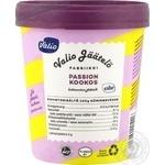 Мороженое Valio со вкусом ванили с фруктово-кокосовым соусом 287г