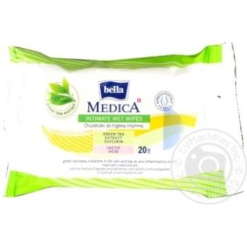 Серветки Bella Medica для інтимної гігієни 20шт - купити, ціни на МегаМаркет - фото 4