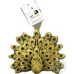 Украшение DLT Collection Павлин бронзово-золотой E09001