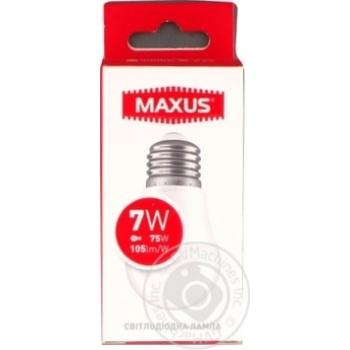 Лампа Maxus светодиодная G45 7W E27 3000K - купить, цены на Novus - фото 1