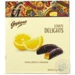 Конфеты Goplana Delights лимонное желе в шоколаде 190г