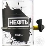 Горілка Neft Limited 3 0.7л х3