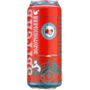 Beverage Zbiten apple-strawberry low alcohol 5% 500ml can