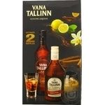 Набір Лікер Старий Таллін + Vana Cream 0.5+0.5л х6