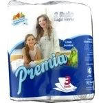 Бумажное полотенце Premia 3 слоя 2шт