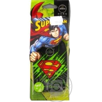 Ароматизатор Aroma Car Superman Лимон - купити, ціни на МегаМаркет - фото 1