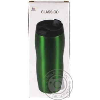 Термокружка Bergam зелений 400мл - купити, ціни на МегаМаркет - фото 2