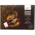 Сахар Саркара коричневый рафинированный тростниковый стик 100х5г