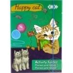 Папка ZiBi Happy Cat для труда картонная на резинках А4+ 30x21.2x2.8cм