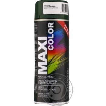 Эмаль Maxi Color универсальная зеленая ель 400мл