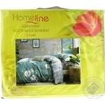 Комплект постельного белья Home Line Цветы 1,5-спальный сатин
