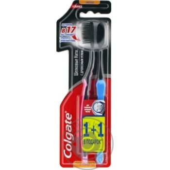 Colgate Toothbrush silk thread with charcoal 1+1 - buy, prices for Novus - image 3