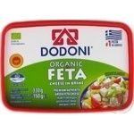 Сыр Dodoni Фета органик 43% 150г