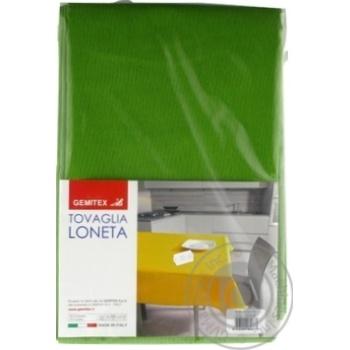 Скатерть Gemitex Loneta 120х170см зеленый