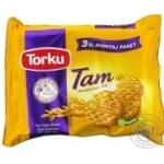Печенье Torku Tam цельнозерновая овсяная 375г