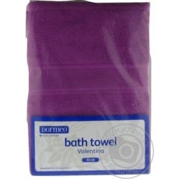 Dormeo Valentina Towel 70х140cm - buy, prices for MegaMarket - image 1