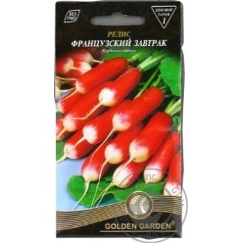 Насіння Редька Французький сніданок Golden Garden 3г - купити, ціни на Novus - фото 3