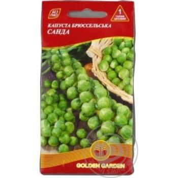 Насіння Капуста брюссельська Санда Golden Garden 1г - купити, ціни на Novus - фото 1