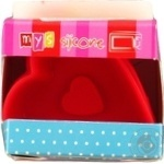MYS Heart Silicone Baking Dish for Cakes 6pcs 7cm