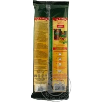 Макароны La Pasta Спагетти 700г - купить, цены на Novus - фото 2
