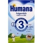 Humana Dry Mixture milk with prebiotics for children from 10 months 350g