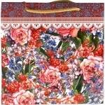 Пакет подарунковий Королівство подарунків дизайн Середній - купити, ціни на Фуршет - фото 1