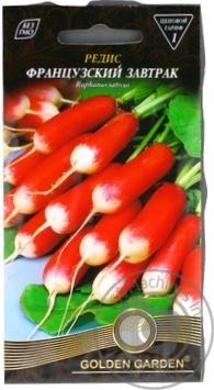 Насіння Редька Французький сніданок Golden Garden 3г - купити, ціни на Novus - фото 1