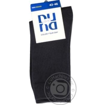 Носки Duna мужские темно-серые 27-29р - купить, цены на СитиМаркет - фото 1