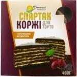 Коржи для торта Домашние Продукты Спартак шоколадные 400г